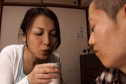 Amazing Japanese mature is a sweet one