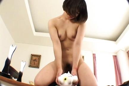 Arisa Yamano Japanese girl enjoys sex games