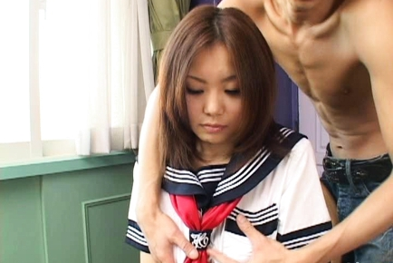 Yamasaki Honoka Lovely Japanese school girl