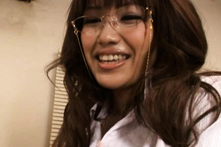Kirara Kurokawa lovely Asian teacher