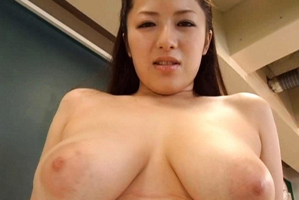 Meisa Hanai Beautiful Japanese teacher has lovely tits