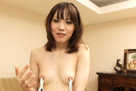 Clamped Ageha Kinashita Loves to Lick More Than Just Dicks
