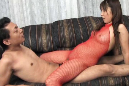 Momo Aizawa Asian doll has shaved pussy and gets lingerie sex