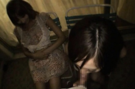 Kirara Asuka Naughty Asian doll has a drinking party