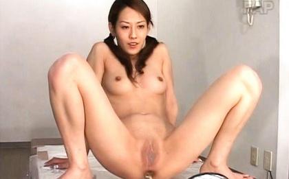 Ueda Misaki hardcore crazy Asian chick
