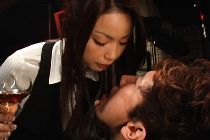 Risa Kasumi Lovely Asian babe in cosplay sex action