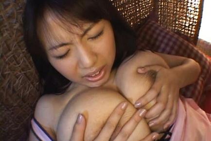 Rin Aoki Asian model has cute tits