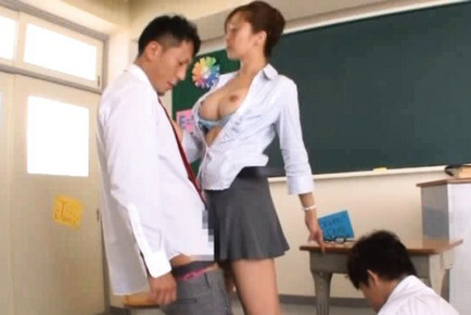 Kaori Hot Japanese teacher