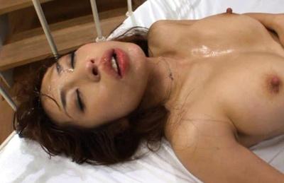 Mika Kayama Japanese babe has two horny guys