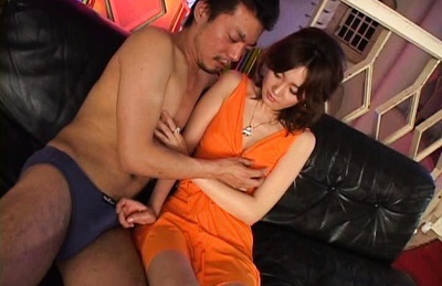 Skinny MILF Rin Spreads Her Legs To Get Creampied