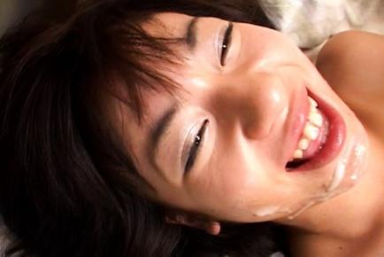 Tiny Tit Teen Rino Syaka Takes A Deep Pussy Pounding