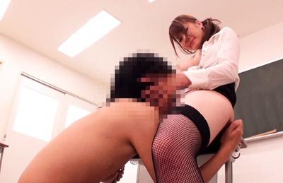 She will teach that boy a lesson - Momoka Nishina fucks her student