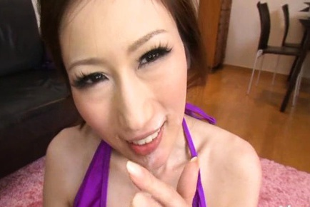 Busty Julia nailed from behind and shooting thick load of cum