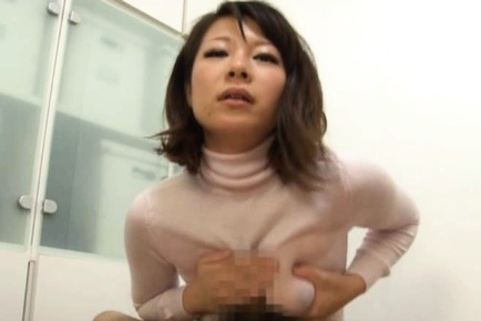 Yuna Haruma´s Oiled Up Boobs In A Shirt Are Good For A Tit Fuck
