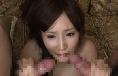 Group action with Minami Kojima gets a rear fucking
