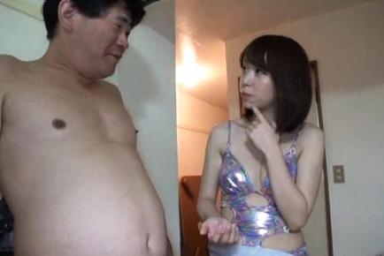 Lovely Yuki Mizuhoshi best handjob in history