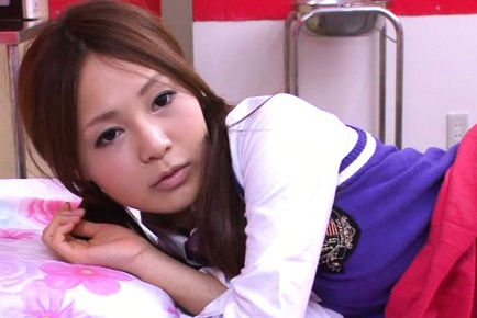 Superb schoolgirl Yukina Momota enjoys fucking