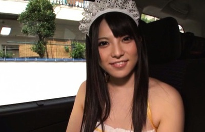 Ai Uehara is a lovely Asian babe in sexy dress