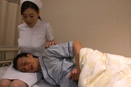 Appetizing Japanese nurse is in search of hard cock