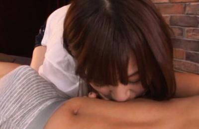 Tit licking with astonishing Wakaba Onoue
