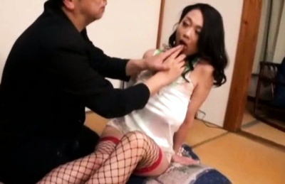 Busty milf Nachi Kurosawa enjoys hardcore sex