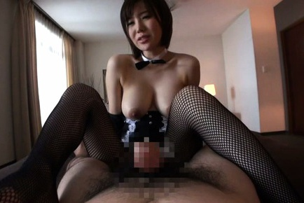 Busty Asian Nanako Mori in naughty POV action