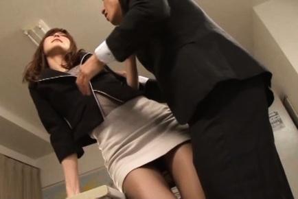 Sugary Japanese female teacher Ichika Kanhata in hardcore action