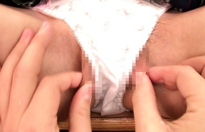 Young Akane Azusa goes nasty with her teacher