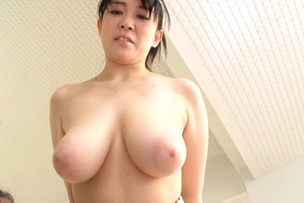 Astonishing Asian milf with huge tits Nanami Horikita enjoys titfuck