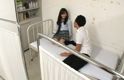 Reona Aizawa gets fucked and made to swallow at school