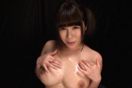 Busty asian babe moans as she is nailed