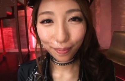 Steamy cosplay as babe Arisu Miyuki is penetrated