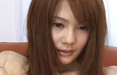 Erika Kirihara Asian model has big tits she enjoys oiled up and masturbation