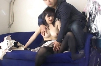 Chisa Hoshijima Asian doll has big tits she enjoys showing off
