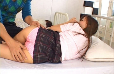 Miyu Hoshino naughty Asian doll enjoys a rear fucking